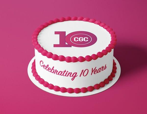 CGC 10 Year Anniversary