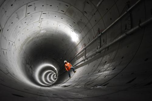 Underground tunnel development
