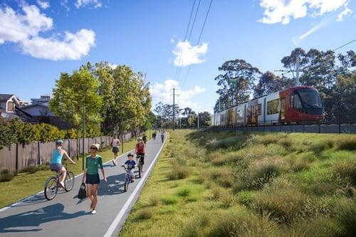Development plans for the Parramatta Light Rail