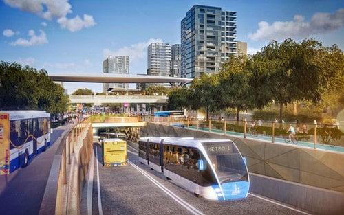 Brisbane Metro Subway Project