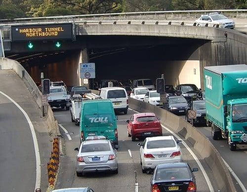 Harbour Tunnel Northbound Traffic