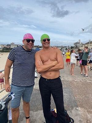 CGC Recruitment consultants on the triathlon competition